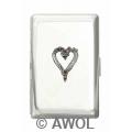 """Wild Heart"" Ultra Slim King Chrome Card Case"